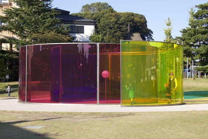 21世期美術館 カラー・アクティヴィティ・ハウス