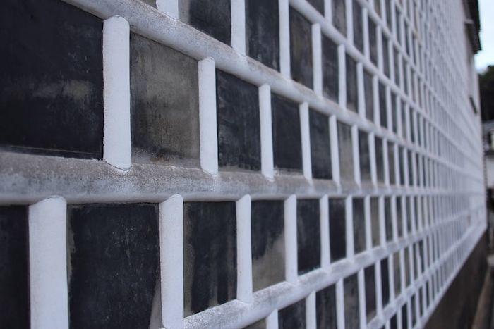 倉敷美観地区の壁