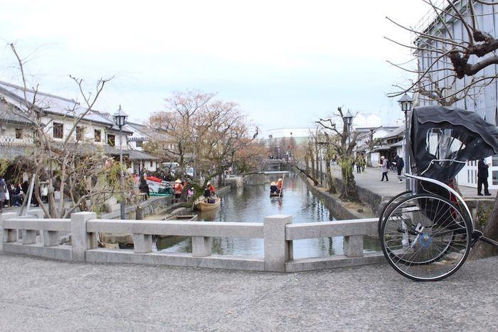 岡山の倉敷美観地区は歴史好きじゃなくても見てるだけで楽しめる町
