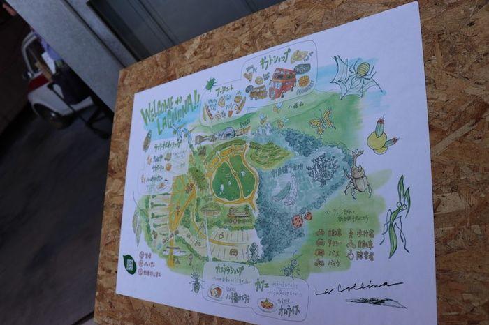 ラコリーナ近江八幡地図