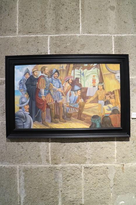 サン・アグスティン博物館展示物