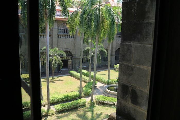 サン・アグスティン博物館中庭