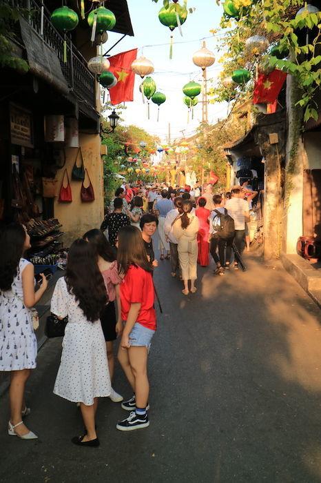 ベトナムホイアンの街並み