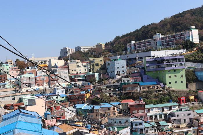 韓国 甘川文化村
