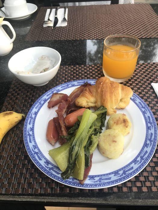 ホイアンヒストリックホテル 朝食
