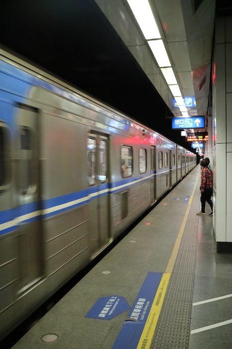 猴硐までの電車