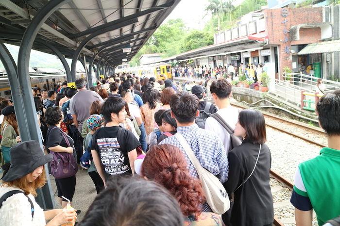 台湾十分駅