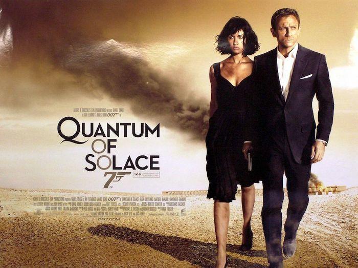 映画「007 慰めの報酬」ジェームズボンド