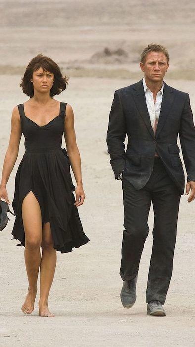 007 慰めの報酬 カミーユ&ジェームズボンド