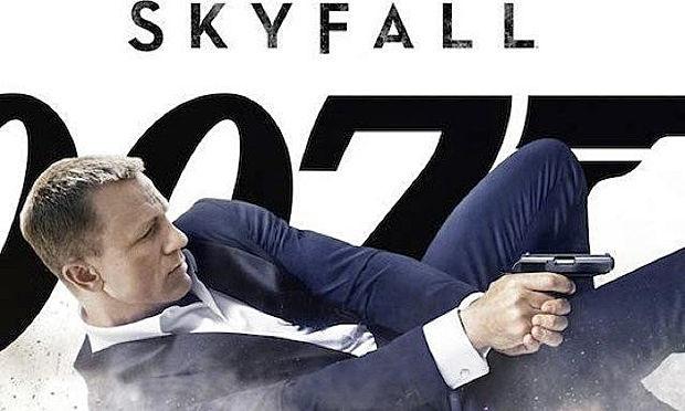 007 スカイフォール(SKYFALL)ジェームズボンド