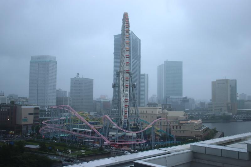 横浜インターコンチネンタルの部屋からの景色