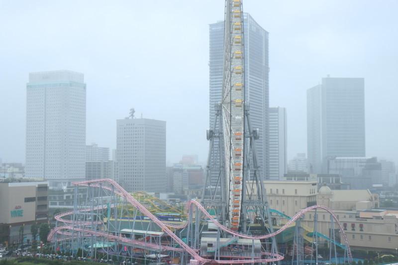 横浜インターコンチネンタルの部屋からの風景