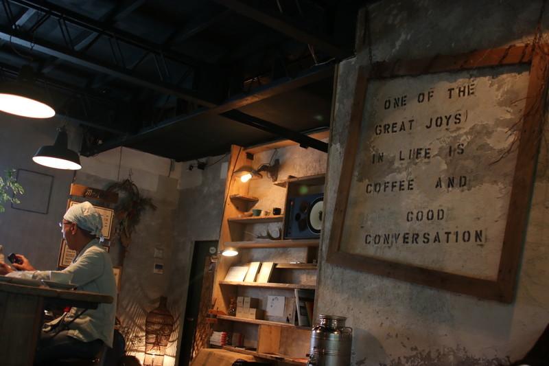 京都カフェ CLAP COFFEE SARASA店内