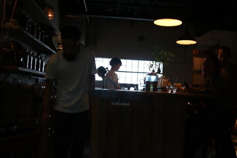 京都CLAP COFFEE SARASA店内様子