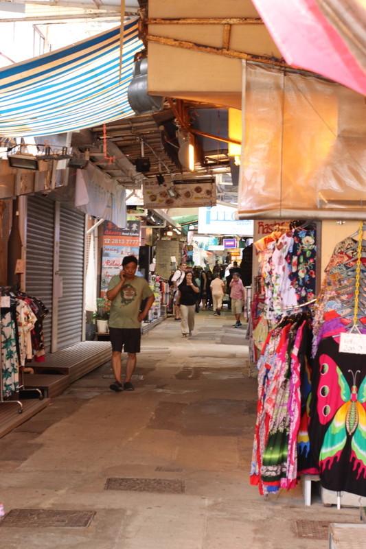 香港リゾート地のスタンレー赤柱
