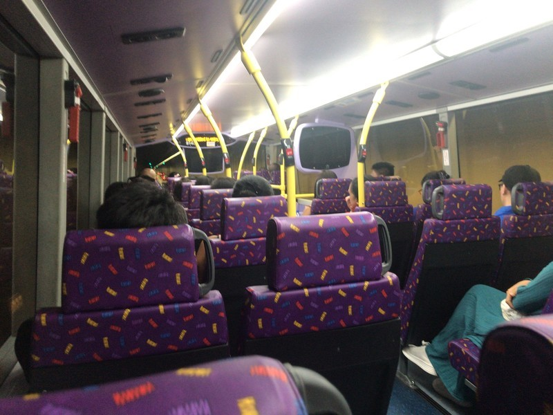 金鐘(アドミラリティ)駅からスタンレー行きバス