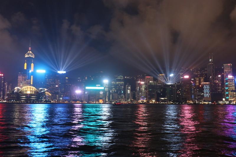 香港プロムナード夜景
