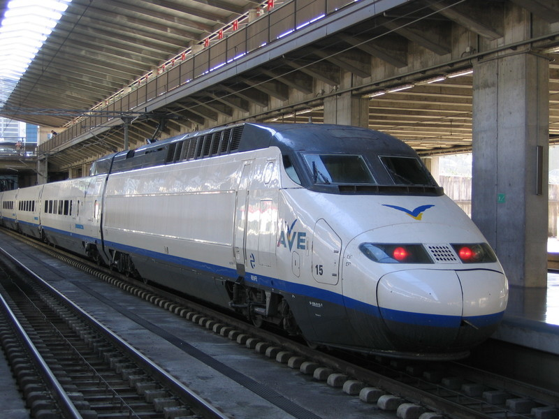 空港からバルセロナ市内へ鉄道で行く場合