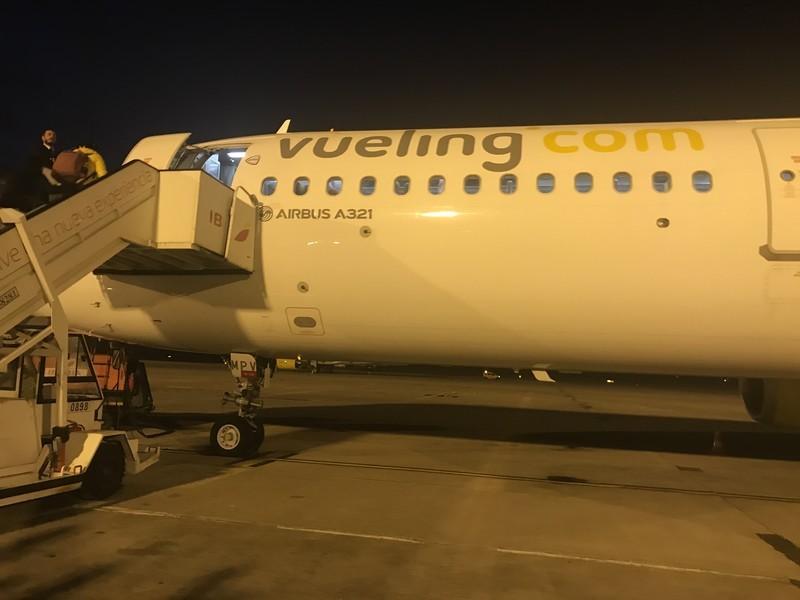 スペイン国内線 ブエリング航空VY2010 バルセロナーグラナダへ乗ってみた【搭乗レビュー】