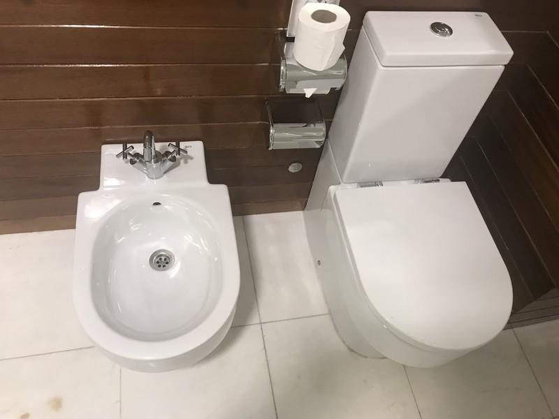 バルセロナエアポートホテルのバスルーム・トイレ