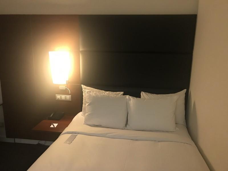 バルセロナエアポートホテルのデラックスルーム