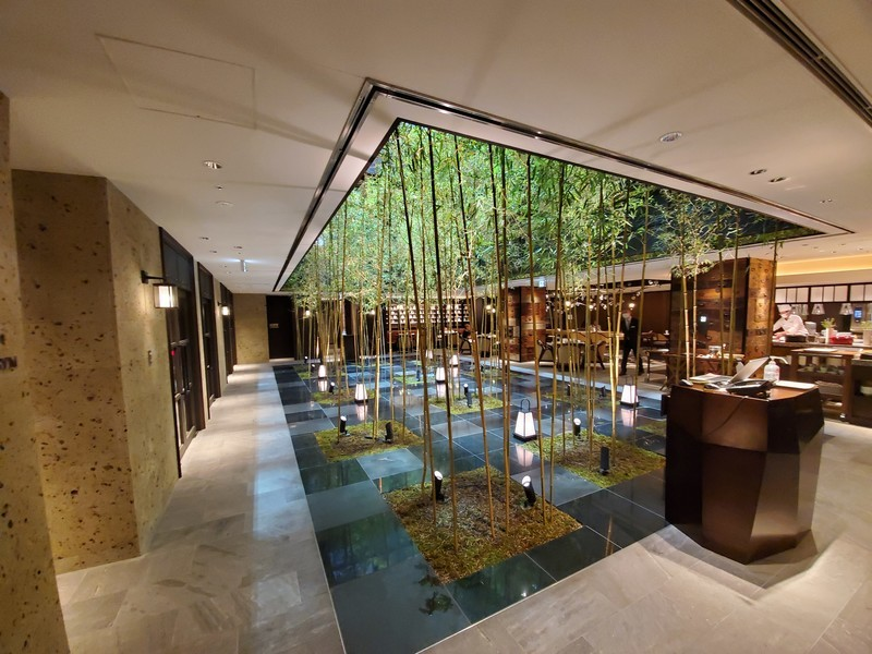 京都悠洛ホテルMギャラリーの朝食会場兼レストラン