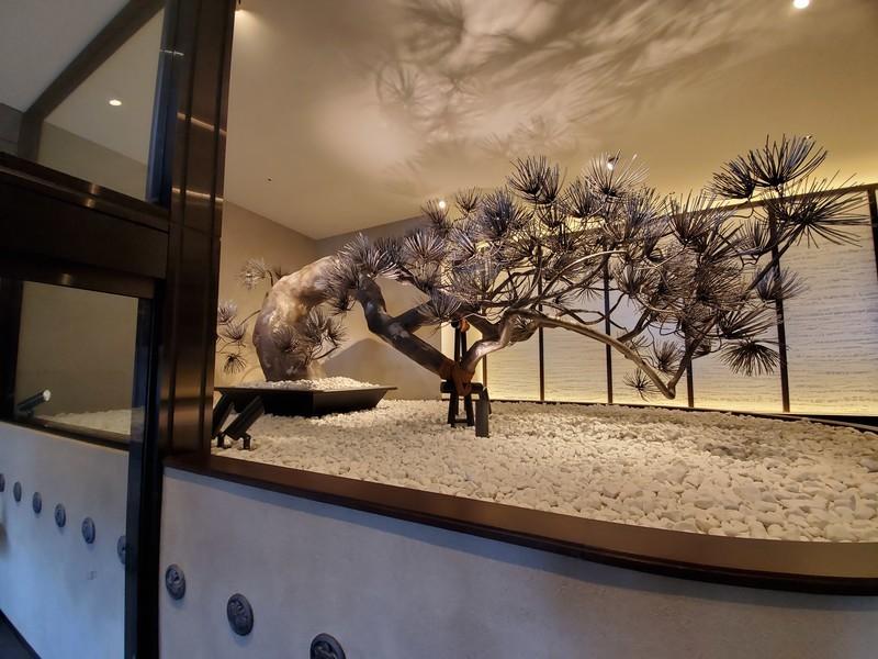京都悠洛ホテルMギャラリー入り口