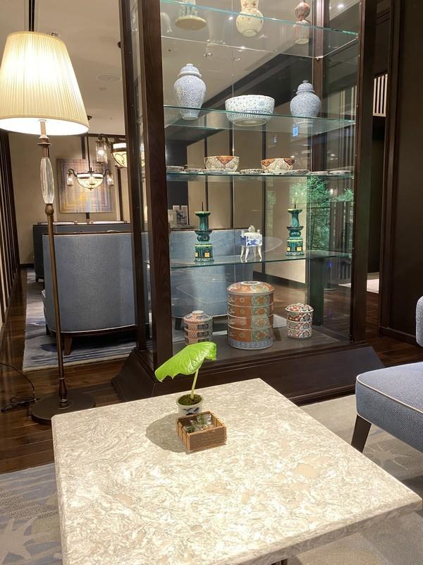 京都悠洛ホテルMギャラリーウェルカムドリンク