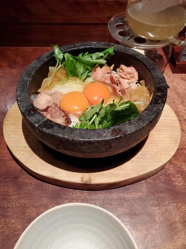 京都 「侘家古暦堂」の名物石焼親子丼