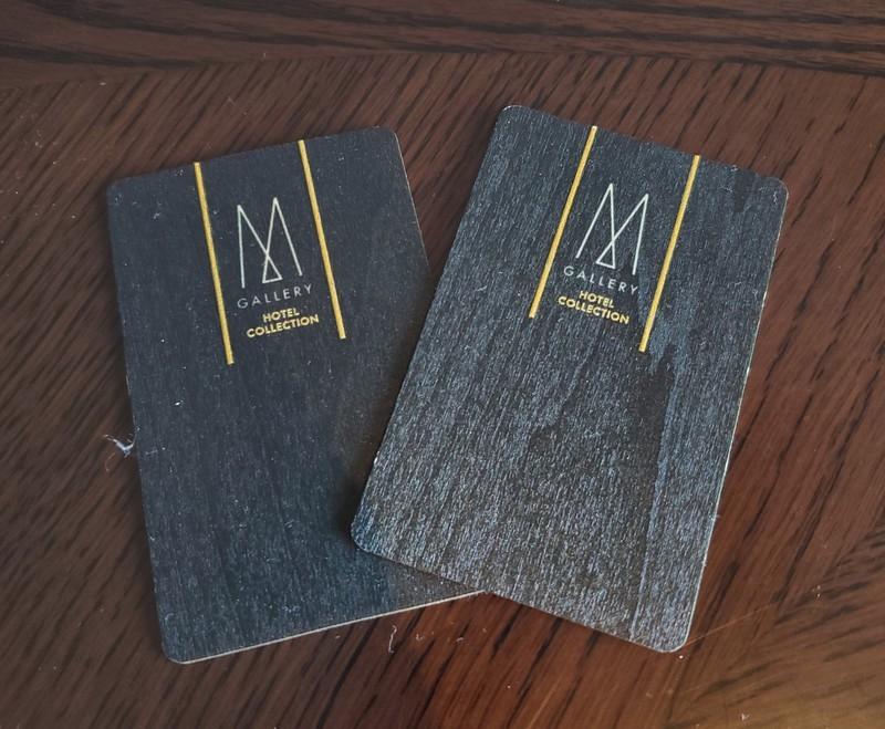 京都悠洛ホテルMギャラリー カードキー