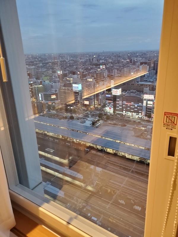 名古屋JRゲートタワーホテルのスーペリアツインルームのお部屋