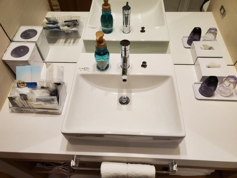 名古屋JRゲートタワーホテルのアメニティ