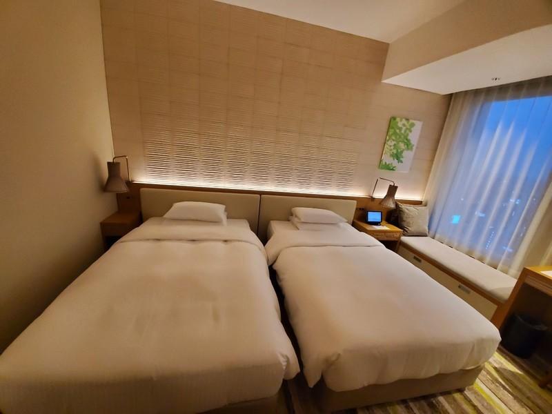 名古屋JRゲートタワーホテルのベッドルーム