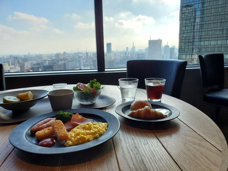 名古屋JRゲートタワーホテルの朝食