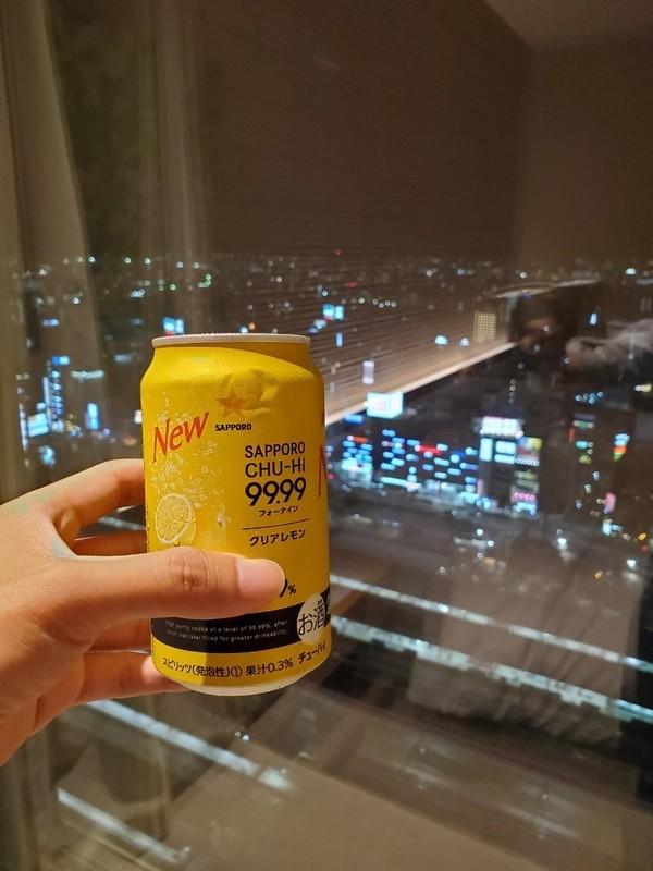 名古屋JRゲートタワーホテル夜景と晩酌