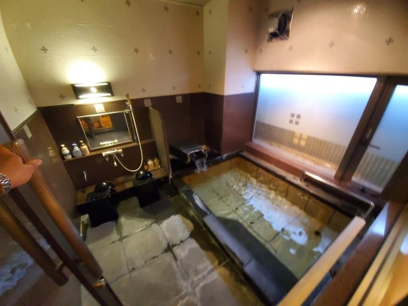 山代温泉「葉渡莉」の貸切風呂について
