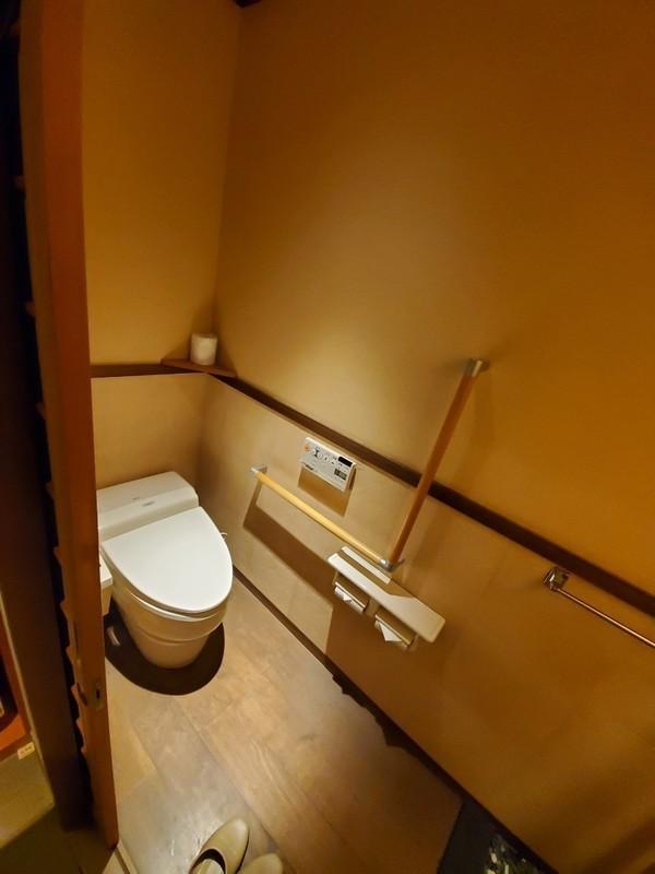 山代温泉「葉渡莉」トイレ