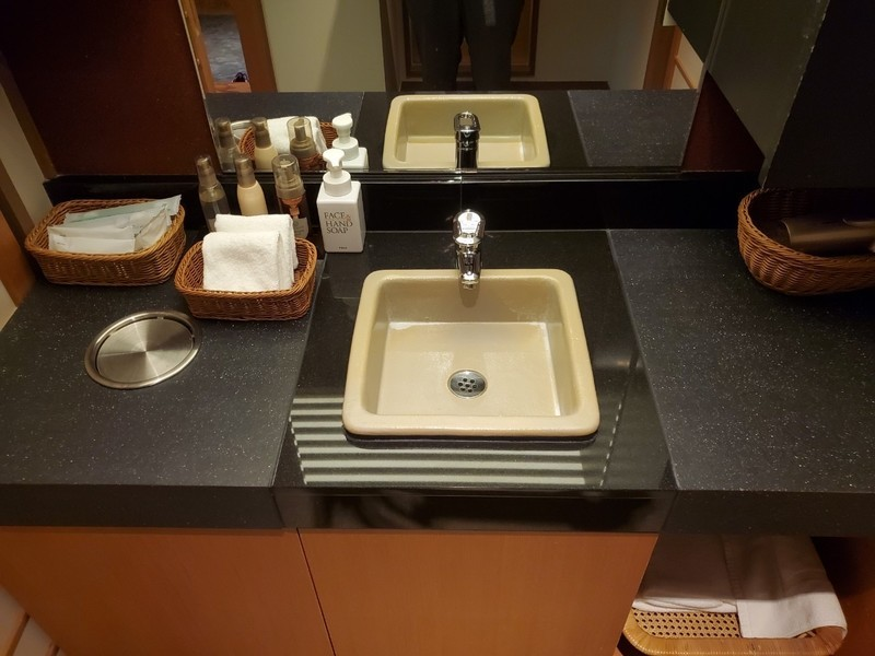 山代温泉「葉渡莉」【藤の棟 Bタイプ】のバスルーム・トイレ