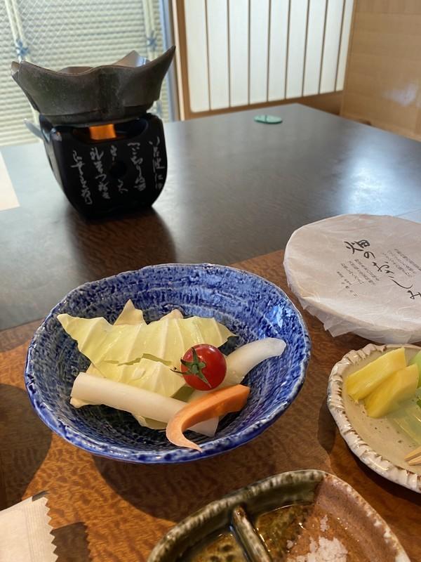 山代温泉「葉渡莉」朝食