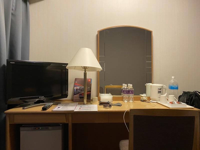 ホテルグランヴィア和歌山のセミダブルルームのお部屋