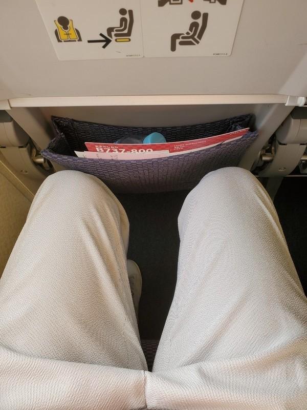 全日空ANA329の座席について