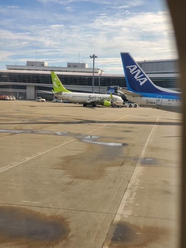 名古屋ー沖縄の宮古島を結ぶ全日空ANA329への搭乗について