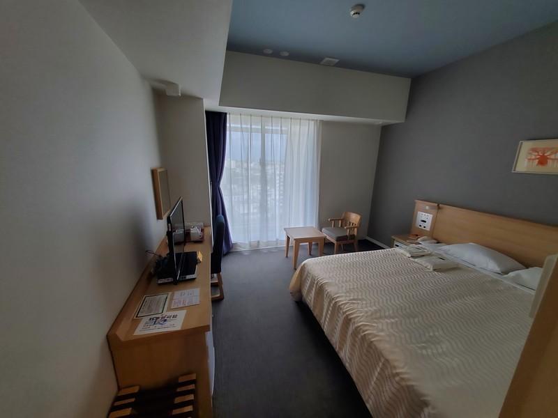 ホテルライジングサン宮古島のダブルルームのお部屋