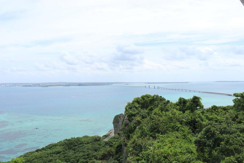 牧山展望台から見る伊良部大橋