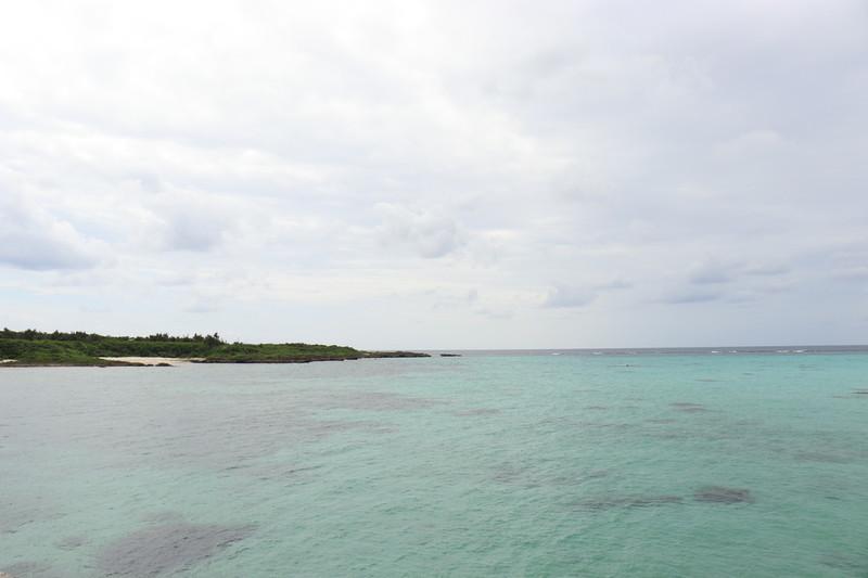 下地島空港近くにある飛行機が見える17END