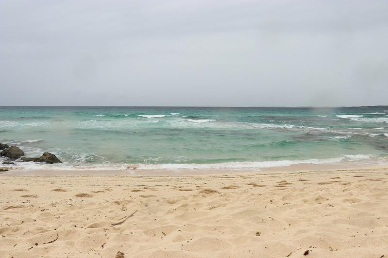砂山ビーチからの海の景色