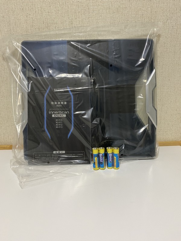 TANITA 体組成計 インナースキャンデュアル RD-910-BK