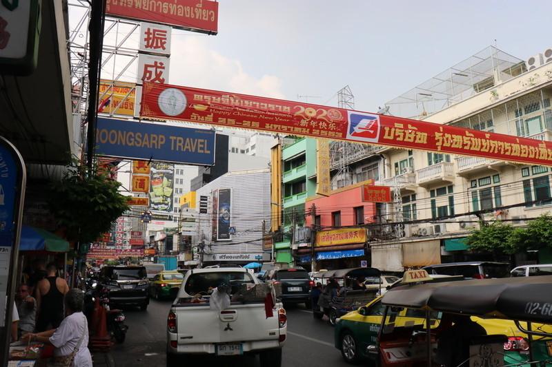 ヤワラート市場 タイバンコク