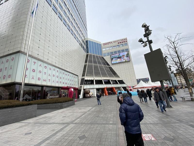 韓国ソウル東大門