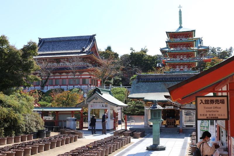 和の「耕三寺」を巡ると想像以上に見応えのあるお寺だった